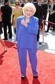 Betty White at the 61st Annual Primetime Creative Arts Emmy Awards. Nokia Theatre, Los Angeles, CA.