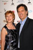 Sharon Lawrence and husband Tom at the Academy of Television Arts and Sciences Prime Time Emmy Nominees Party. Wolfgang Puck Pacific Design Center, West Hollywood, CA. 09-17-09