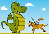 Knight Versus Dragon