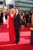 Nancy Carell and Steve Carell at the 61st Annual Primetime Emmy Awards. Nokia Theatre, Los Angeles,
