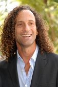 Kenny G at the ceremony honoring Dave Koz with a star on the Hollywood Walk of Fame. Vine Street, Ho