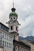The Spital Church In Innsbruck, Austria