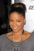Sanaa Lathan at the Los Angeles Premiere of 'Law Abiding Citizen'. Grauman's Chinese Theatre, Hollyw