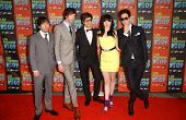 Cobra Starship at Los Premios MTV 2009. Gibson Amphitheatre, Universal City, CA. 10-15-09