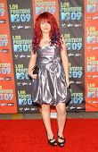 Allison Iraheta at Los Premios MTV 2009. Gibson Amphitheatre, Universal City, CA. 10-15-09
