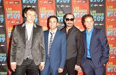 The Backstreet Boys at Los Premios MTV 2009. Gibson Amphitheatre, Universal City, CA. 10-15-09