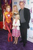 Camille Grammer and Kelsey Grammer at Cirque Du Soleil's 'Kooza' Opening Night Gala. Santa Monica Pi