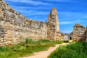 The Remains Of The Ancient City Of Chersonesus