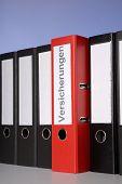 Red File Folder