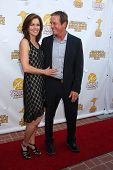LOS ANGELES - JUN 26:  Susan Walters, Linden Ashby at the 40th Saturn Awards at the The Castaways on