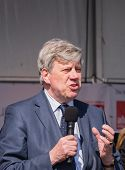 Dutch Minister Of Security And Justice, Ivo Opstelten
