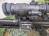 Machine Gun Dutch Military