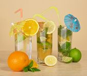 Refreshing cocktails to quench your thirst