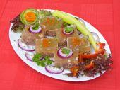 Serbian national food pihtija