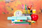 Stationery and school notebooks