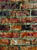 Brick wall with texture background