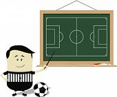 school soccer referee teaching