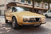 Vintage Car Alfa Romeo Junior Zagato