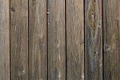 Old Dark Brown Wooden Wall