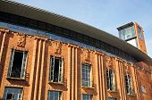 stock photo of avon  - Front view of the Royal Shakespeare Theatre Stratford - JPG