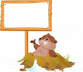Groundhog Day billboard