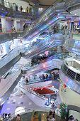 Lot 10 Shopping Mall interior Kuala Lumpur