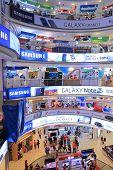 PLAZA LOW YAT Shopping Mall interior Kuala Lumpur