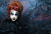 picture of gothic female  - Gothic witch - JPG
