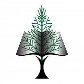 book tree icon