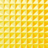 Abstract 3d geometric pattern. Polygonal background. Vector illustration.