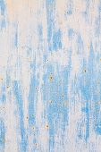 Rusty Blue Metal Background Vertical