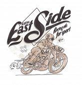 handmade vintage motorcycle rider