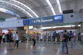 KTM station at KL Central Kuala Lumpur
