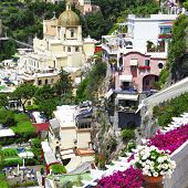 travel in Italy - scenic Positano