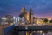 Church Of Saint Nicholas In Amsterdam