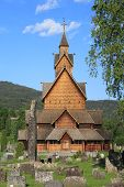 Heddal Stave Church in Norway
