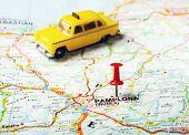 Pamplona Irunea,spain  Map Taxi