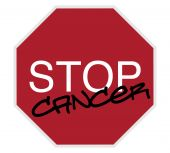 Stop Sign - Stop Cancer