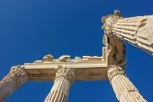 Trojan Temple Columns 1