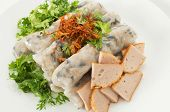 Banh Cuon, Vietnamese Steamed Rice Noodle Rolls
