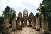 Temple at Ayutthaya, the second Thailand capital