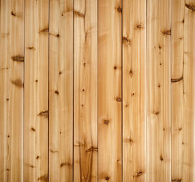 picture of red siding  - Background of wooden red cedar planks showing woodgrain texture - JPG