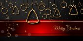 picture of christmas greetings  - 2015 New Year and Happy Christmas background for your flyers - JPG