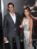 LOS ANGELES - SEP 29:  Ward Horton & Annabelle Wallis arrives to the