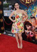 LOS ANGELES - OCT 12:  Ana de la Reguera arrives to the
