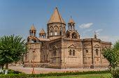 Holy Etchmiadzin Church Near Yerevan