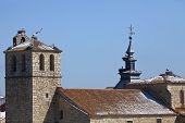 Stork Nest on the Church Roof