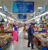 Jagalchi Fish Market Busan Indoors