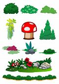 Element Of Nature In Vector
