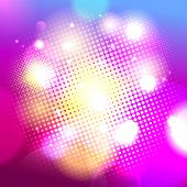 Pink dotted background, vector Eps10.